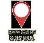 Mapa Gminy Stary Brus
