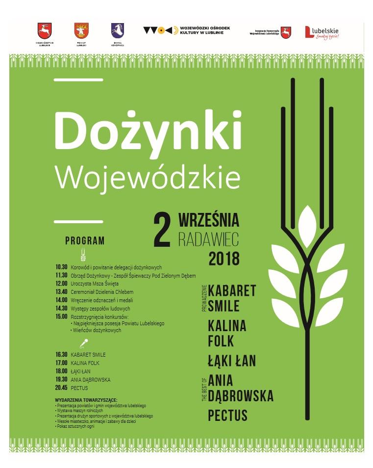 Dożynki Wojewódzkie w Radawcu