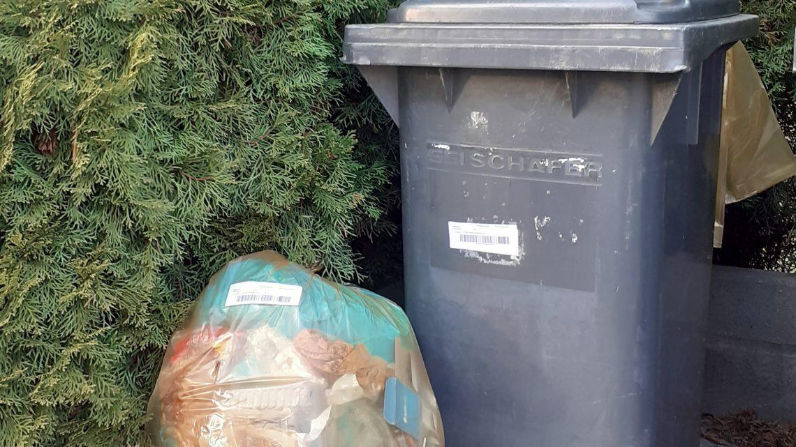 MZC: Worki przeznaczone wyłącznie na odpady suche