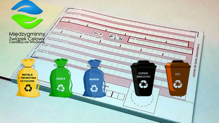 Nowe stawki opłat za odbiór odpadów komunalnych od 1 sierpnia 2020 r.