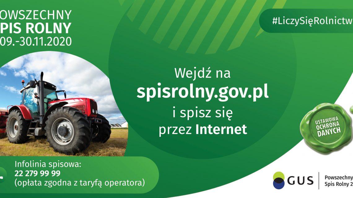 Powszechny Spis Rolny 2020 trwa!