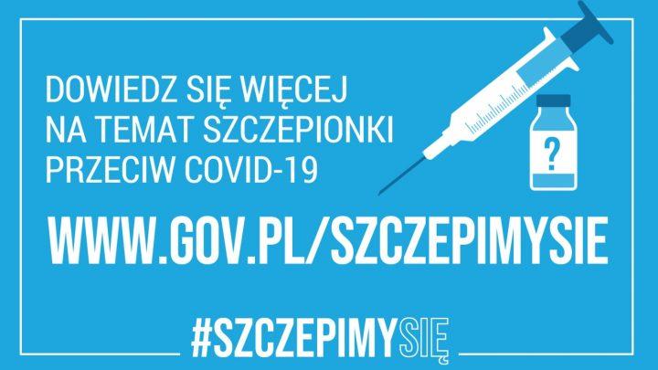Szczepienie przeciwko COVID-19 – Rejestracja osób powyżej 80 i 70 roku życia oraz transport na szczepienia