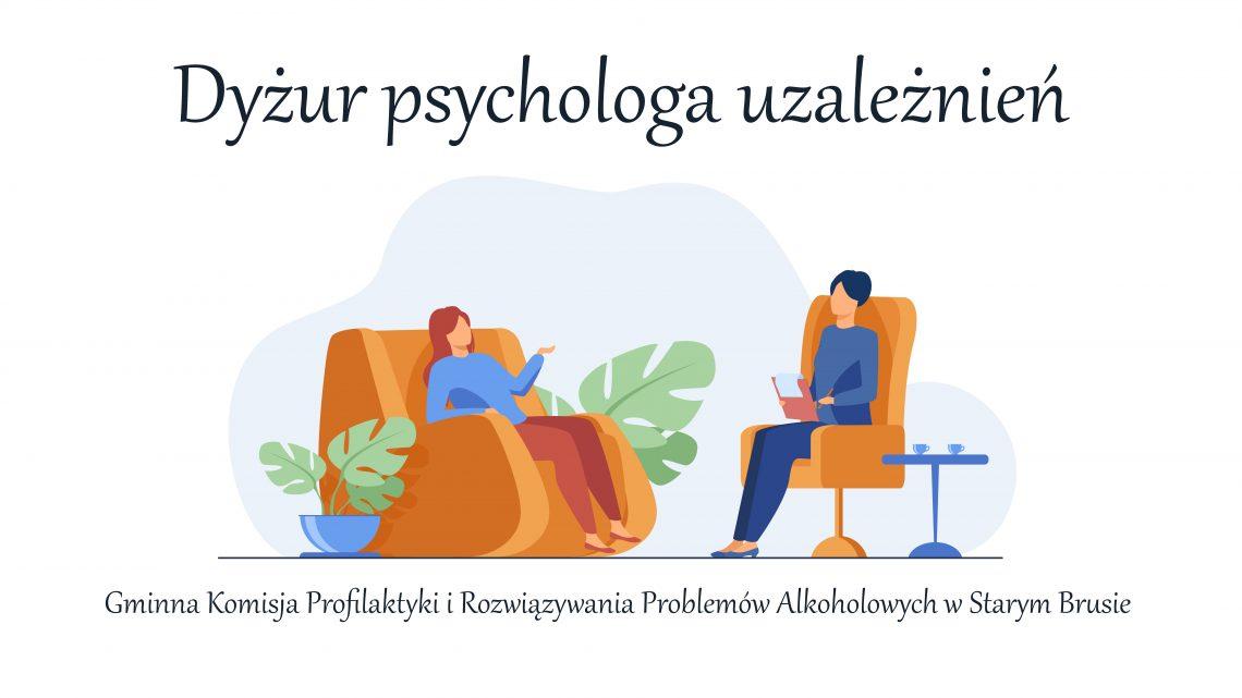 Dyżur psychologa uzależnień